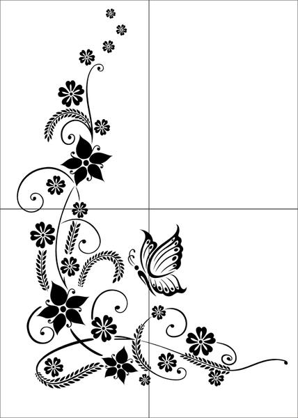 Motywy Kwiatowe Flora17