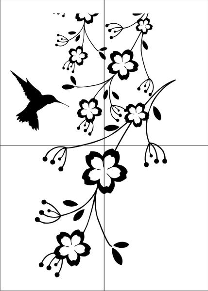 Motywy Kwiatowe Flora07